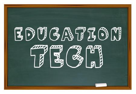 Education Tech Software Apps Development Learning 3d Illustration Stock Photo