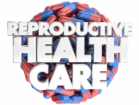 Reproductive Health Care Treatment Medication Pills 3d Illustration Stock Photo