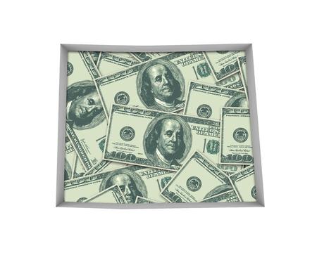 Colorado CO Money Map Cash Economy Dollars 3d Illustration Reklamní fotografie