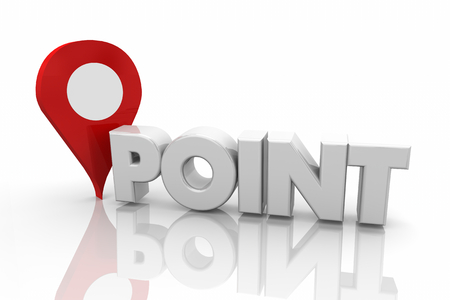 Point Map Pin Pinpoint Exact Location 3d Render Illustration
