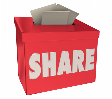 Share Your Story Feedback Comments Suggestion Box 3d Illustration