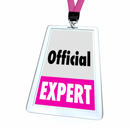 Official Expert Knowledge Subject Matter Pro SME Badge 3d Illustration