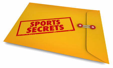 Sports Secrets Athletics Teamwork Enveloope 3d Illustration