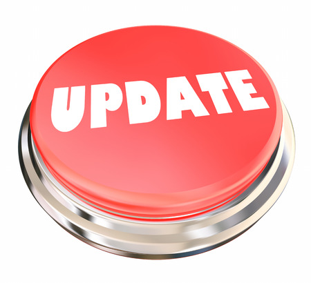 Update New Information Latest News Button 3d Illustration