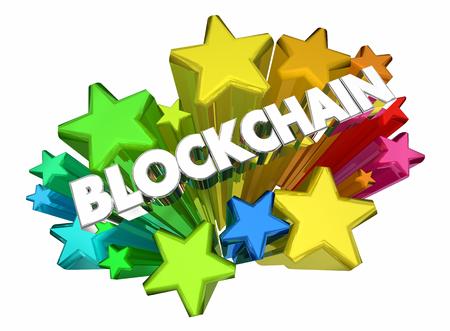 Blockchain Crypto Security Digital Technology 3d Animation