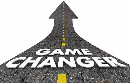 Game Changer New Rules Approach Plan Road Arrow 3d Illustration