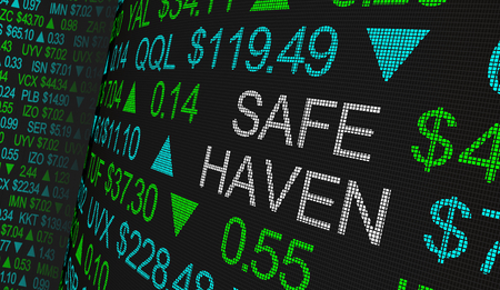 Safe Haven Tax Protection Shares Fund Stock Market Ticker Words 3d Illustration
