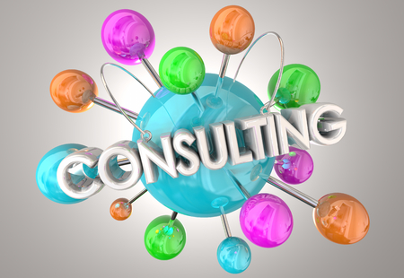 Consulting Expert Professional Service 3d Illustration