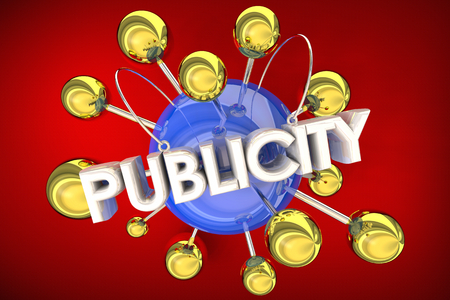 Publicity PR Get Attention Awareness 3d Illustration