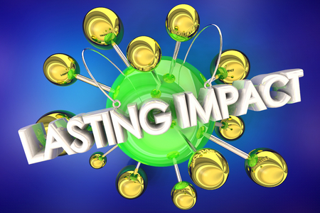Lasting Impact Make Good Impression 3d Illustration