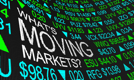 Whats Moving Markets Stock Prices Trends 3d Illustration