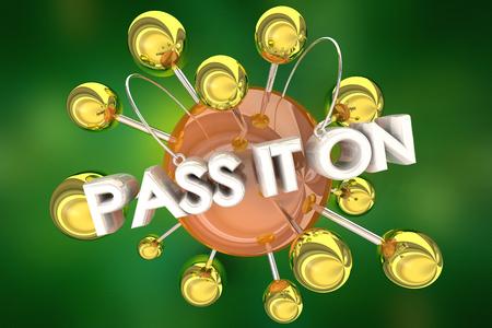 Pass it On Spread the Word Communication 3d Illustration Stockfoto