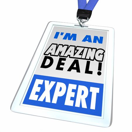 I Am An Amazing Deal Expert Sale Discount Hunter Badge 3d Illustration