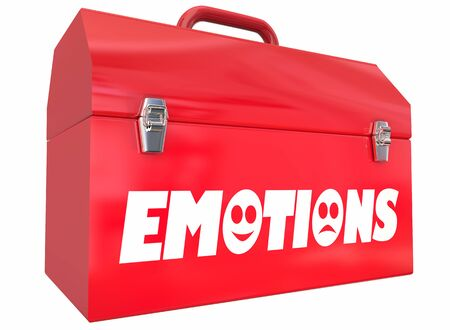 Emotions Feelings Mental Toolbox Therapy Treatment Emotional States 3d Illustration