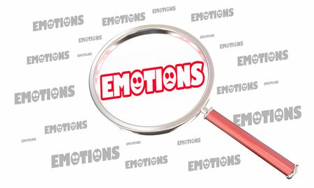 Emotions Feelings Attract People Magnet 3d Illustration