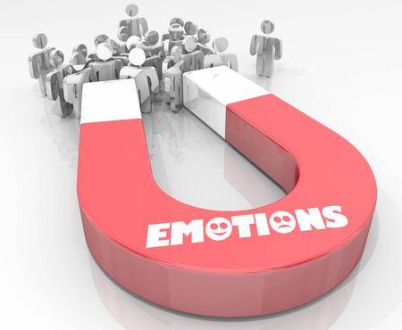 Emotions Feelings Computer Laptop Sharing 3d Illustration Stockfoto