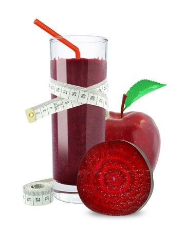 juice of apples and beetroot Stock fotó - 28597926