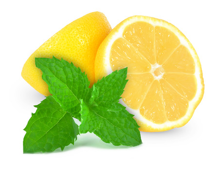 lemon and mint Stock fotó
