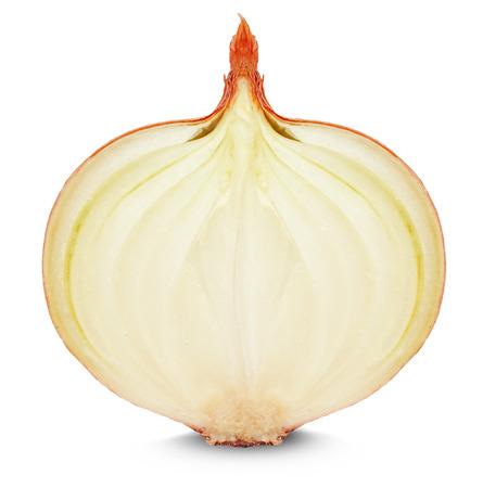 onion slice: onion slice isolated on white background