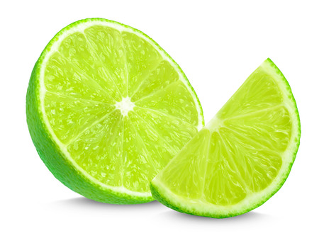 lime slices Stock fotó