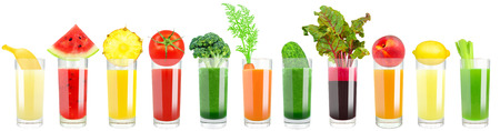 the juice: vegetable and fruit juice