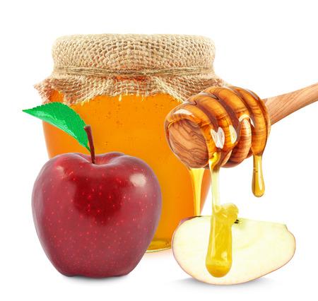 apple and honey Stock fotó