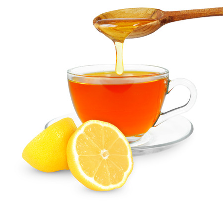 lemon tea with honey