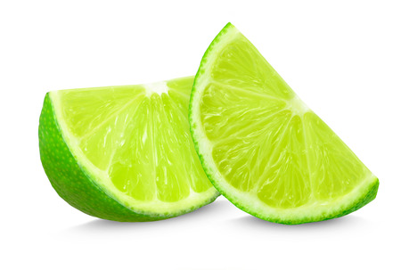 lime: lime slices Stock Photo