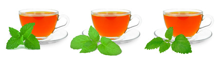 teas: herbal teas Stock Photo