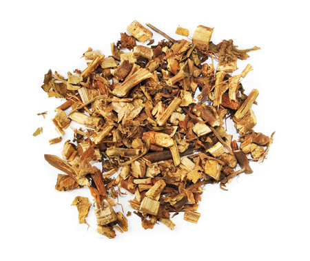 Herba Agastachis, chinese herbal medicine isolated. Huo Xiang