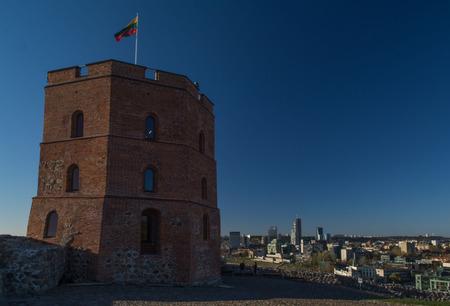 vilnius: Gediminas Tower, Lithuania, Vilnius