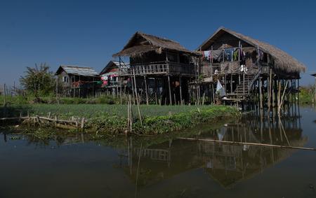 inle: Lake .Inle Myanmar Burma