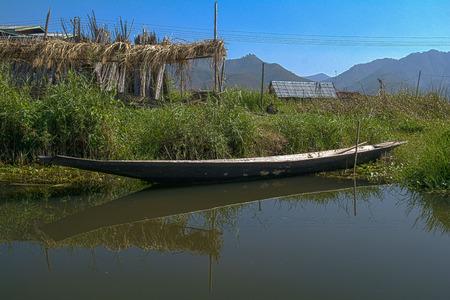 inle: Inle Lake Asia Myanmar Burma Stock Photo