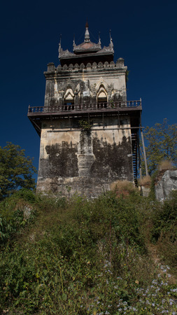 venerable: Myanmar Burma Mandalay Stock Photo