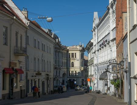 vilnius: Lithuania Vilnius the old town