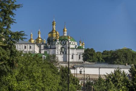 lavra: Kiev Lavra. fall. morning Stock Photo