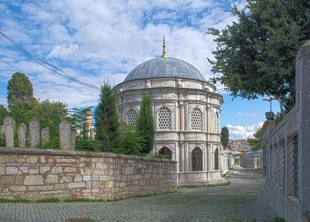 fundamental: eyup mosque istanbul Stock Photo
