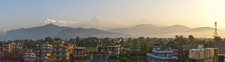 pokhara: Nepal, the Himalayas, Pokhara Stock Photo