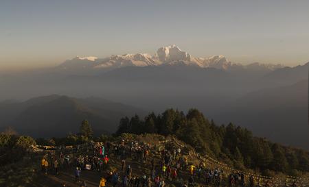 Nepal, Himalayas, Annapurna Stock Photo
