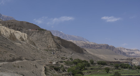 tibetan house: Nepal, Himalayas, Mustang