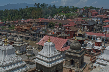 カトマンズ ネパール ・ パシュパティナート 写真素材 - 87766826
