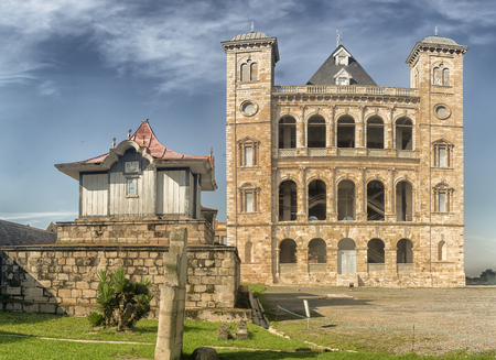 city, antananarivo, madagascar, capital, africa 免版税图像