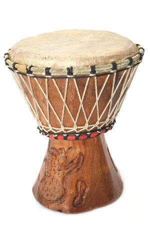 noise isolation: Closeup image of a bongo drum