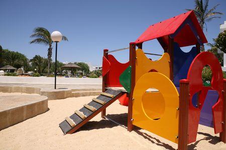 place for children: los ni�os para jugar