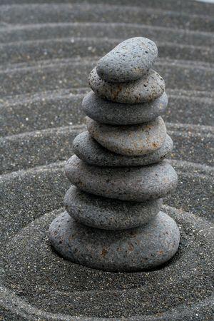 Sand and Stones Stock Photo - 4411095