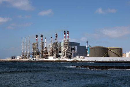 desalination: Desalination Plant Stock Photo