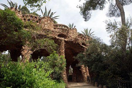 antoni: Antoni Gaudis Park Guell in Barcelona Spain