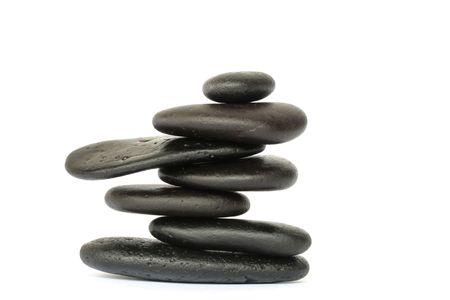 balanced rocks: Balanced rocks representing meditation