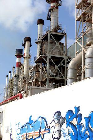 desalination: Desalination Plant in Lanzarote Stock Photo