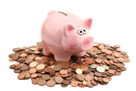 Piggy bank Foto de archivo